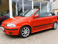 brugte Fiat Punto Cabriolet biler