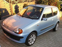 brugte Fiat Seicento biler