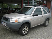 begagnade Land Rover Freelander bilar
